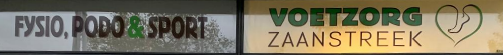 Fysio, Podo & Sport Voetzorg Zaanstreek